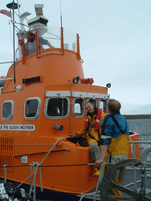 The old Longhope Lifeboat