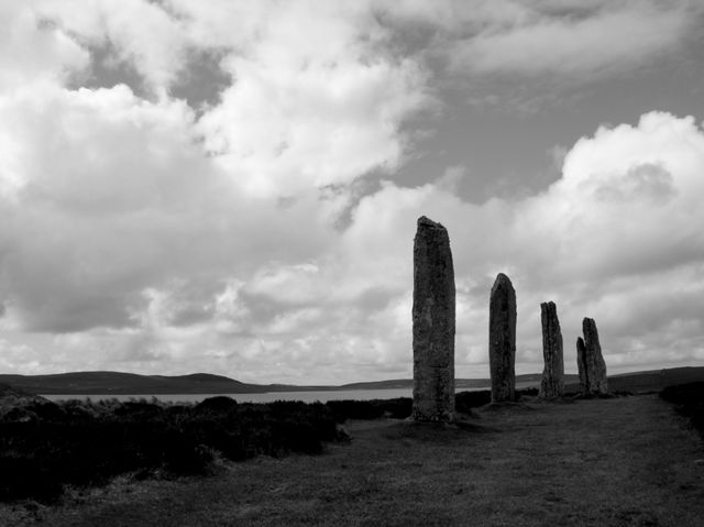Brodgar in Black and White