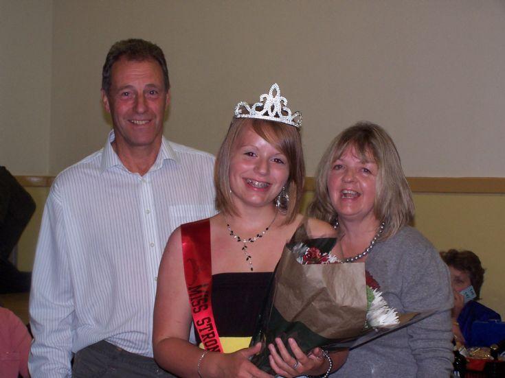 Stronsay's homecoming princess