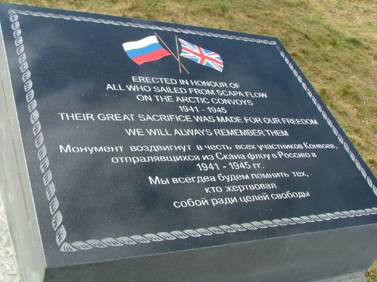 Arctic Convoy Memorial Plaque