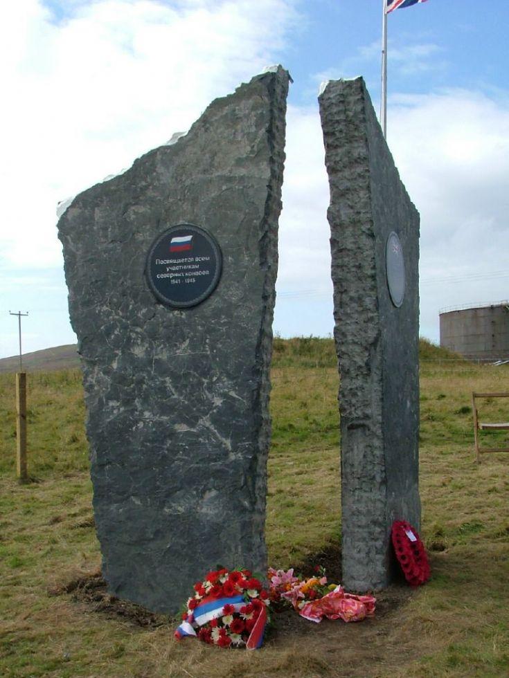 Arctic Convoy Memorial Stones
