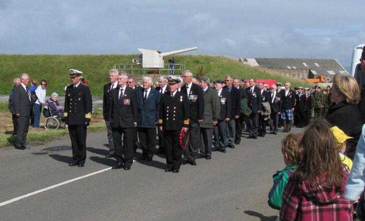 Arctic Convoys Memorial parade