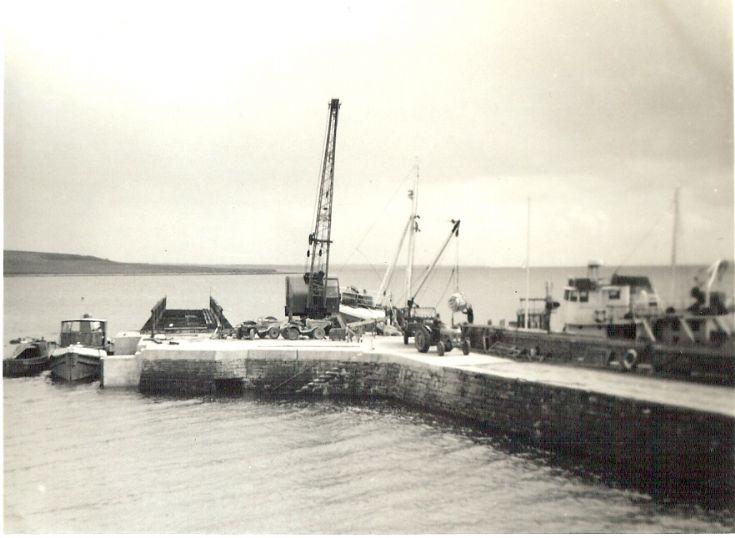 Shapinsay Pier  May 1968