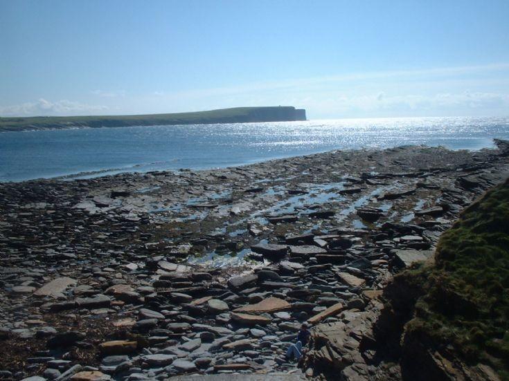 Birsay Bay looking towards Marwick Head