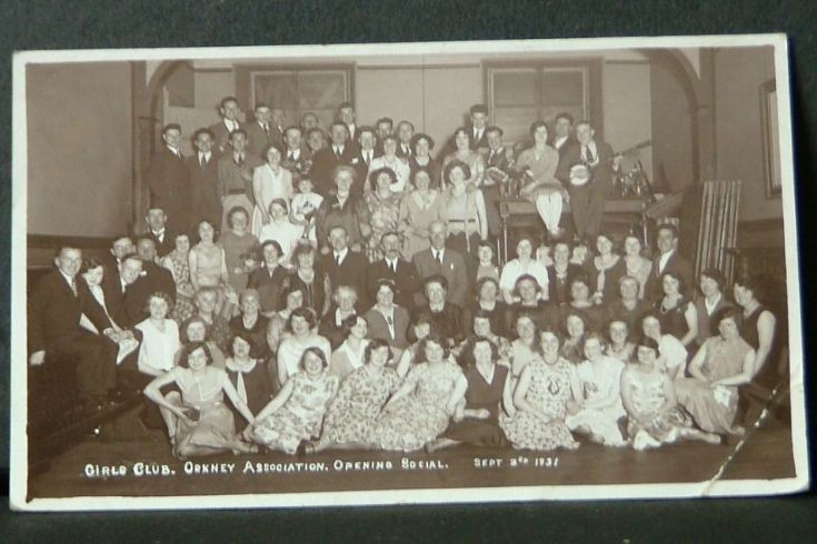 Girls Club, Orkney Association