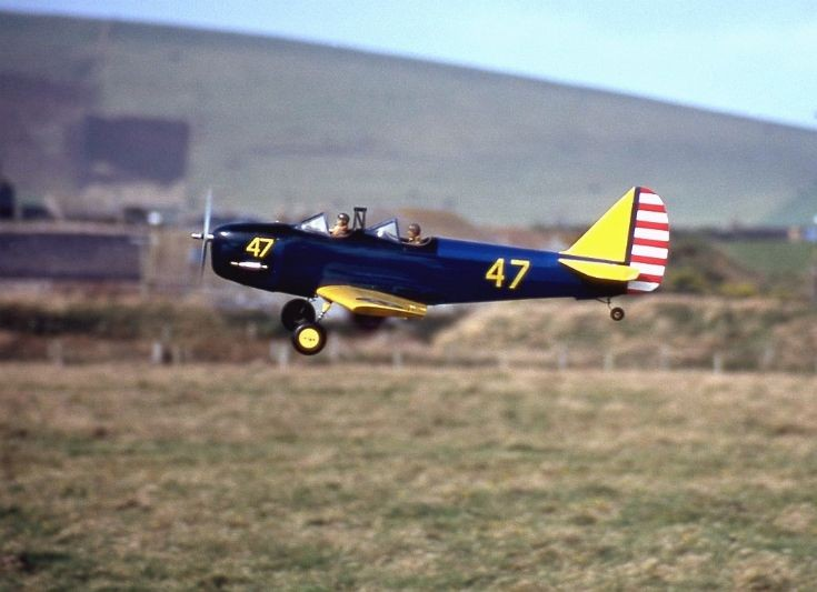 West Mainland airfield in use