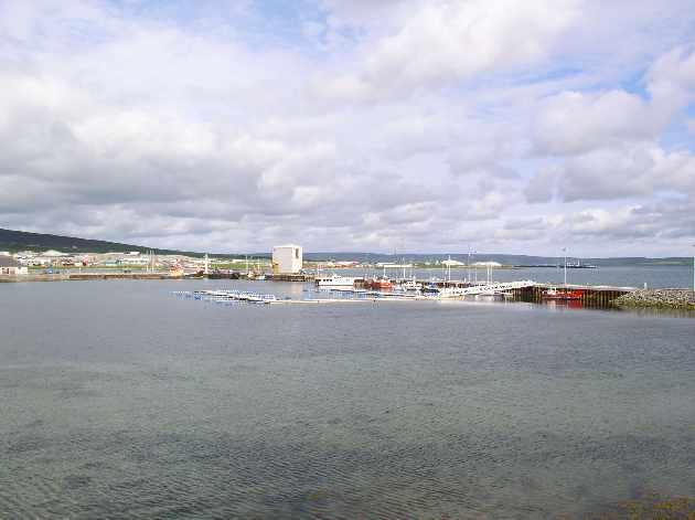 May 2004- Kirkwall Marina from Cromwell Road