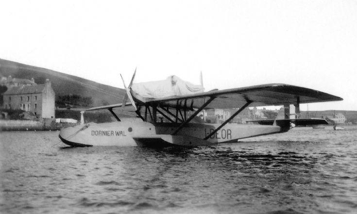 Dornier Wal (Whale) flying-boat