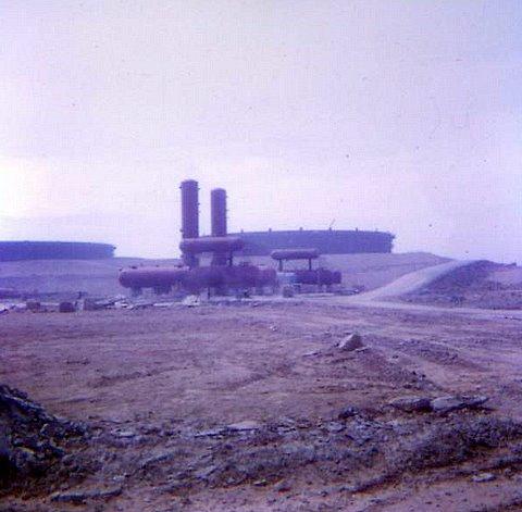 Oil Terminal, Flotta.