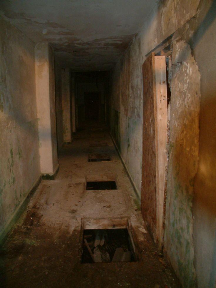Main corridor of the Black Building