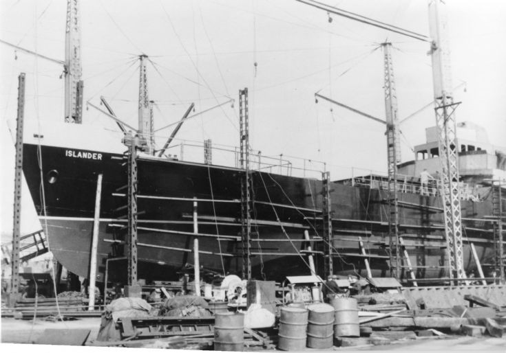 Construction of MV Islander