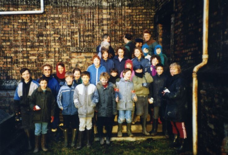 School trip to Black Building
