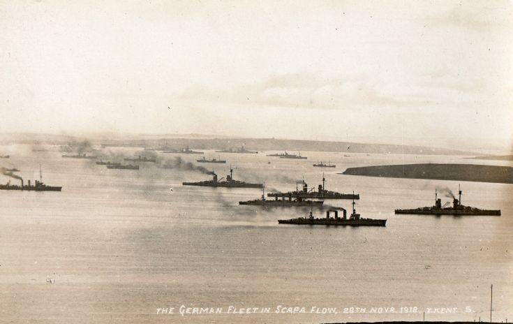 German Fleet, 20th November 1918