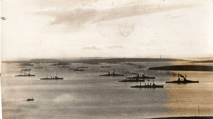 German fleet 1918 No 6