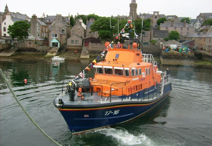 Stromness Lifeboat during Shopping Week