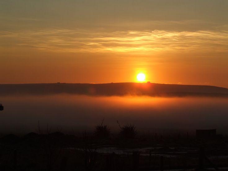 Sunrise Xmas morning 2006