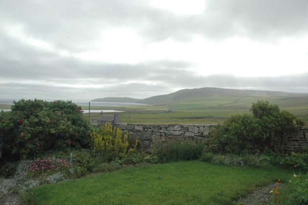 August 2004, looking east from NW Rousay