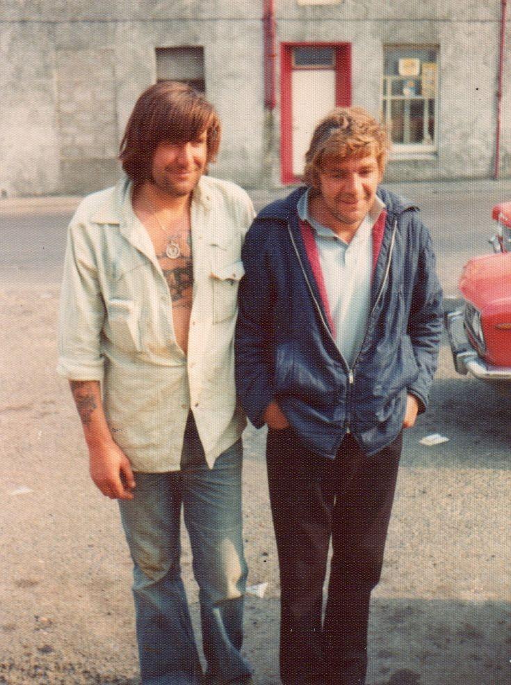 Alex Cardno with Brian Thompson