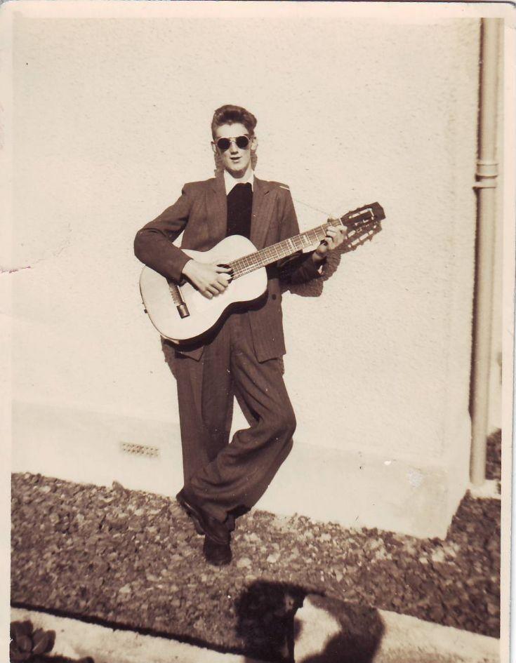 Orkney's budding Elvis Presley