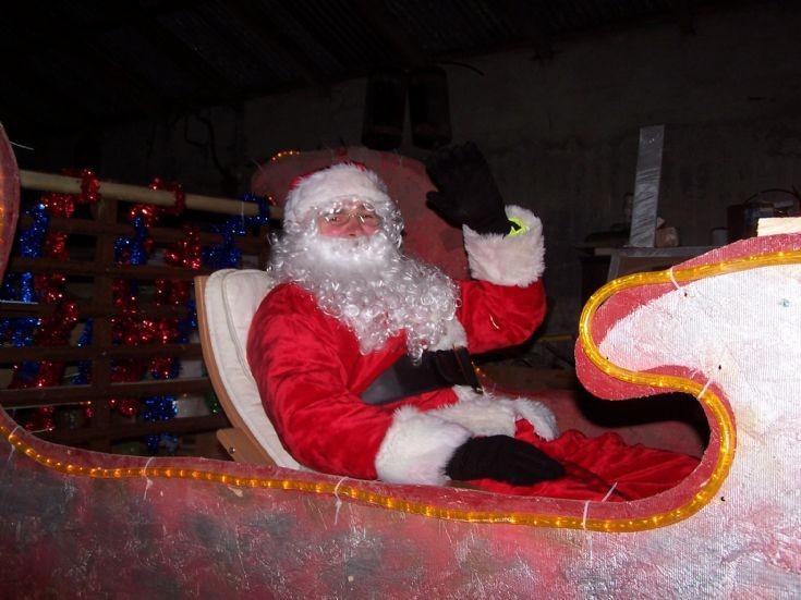 Santa in Stronsay