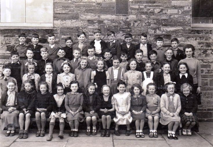 KIrkwall school photo, 1947 or 48