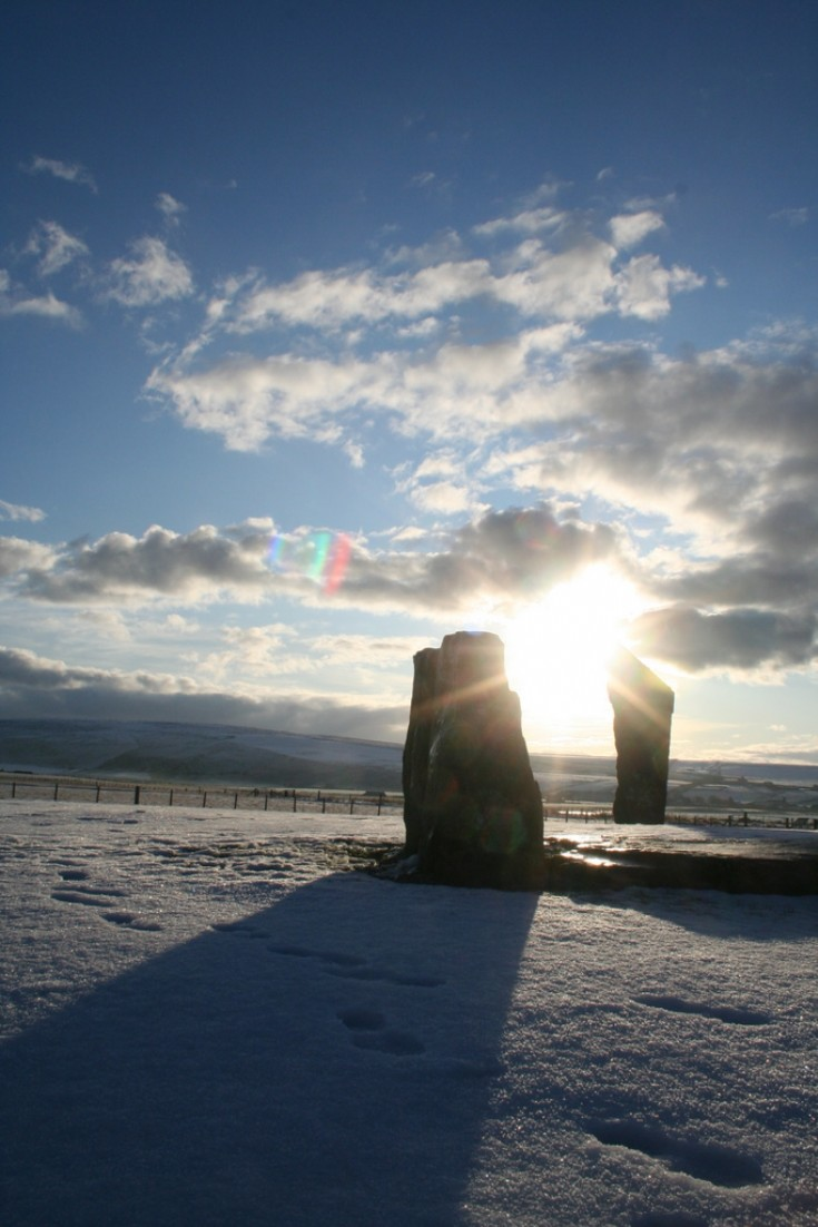 Stenness on Christmas Eve