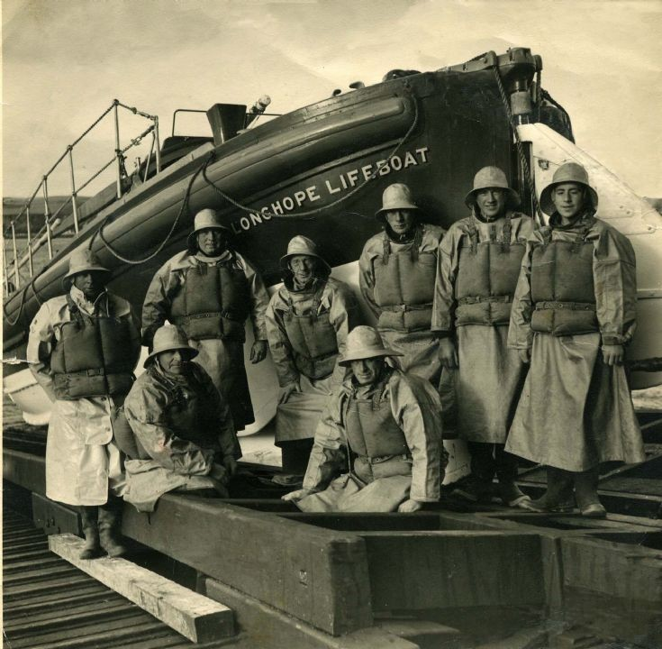 Crew of the Longhope lifeboat