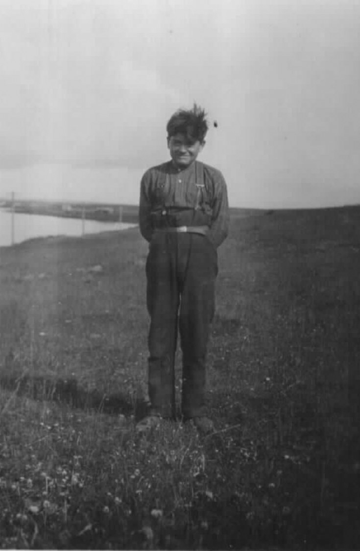 Hugh Johnston  abt 1919