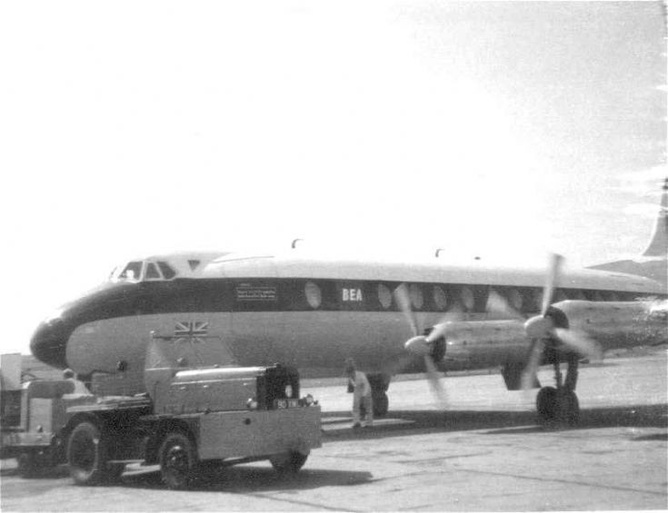 Viscount at Kirkwall Airport
