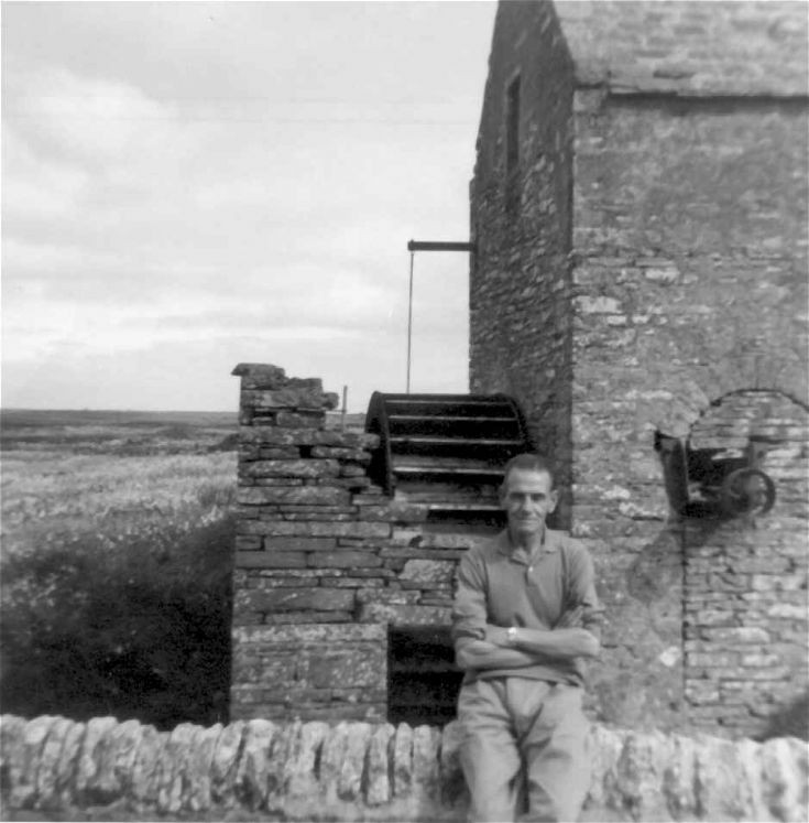 By the Mill at Tankerness 1966