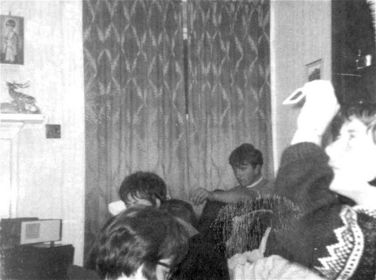 At Ernie Skea's Deerness 1967