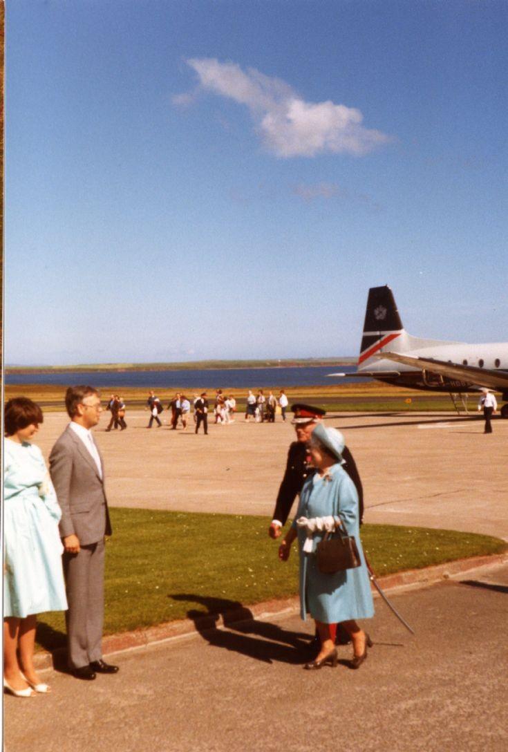 Queen Mother Kirkwall Airport 1985