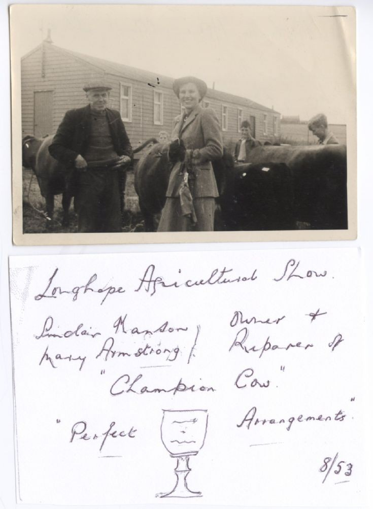 Longhope Agricultural Show 1953