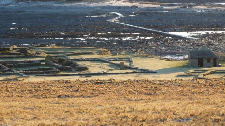 A frosty morning on the Brough of Birsay