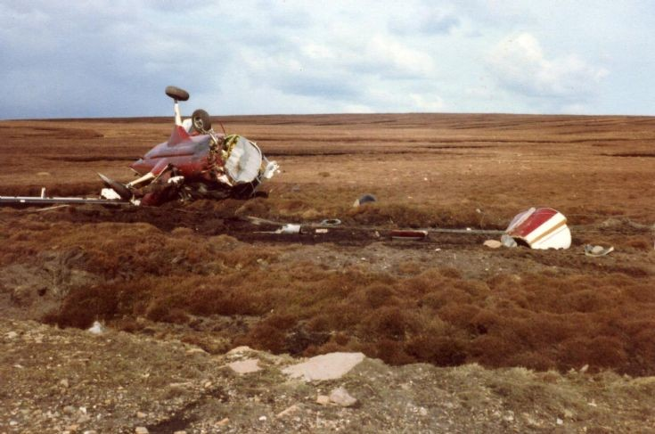 Plane Crash in Flotta
