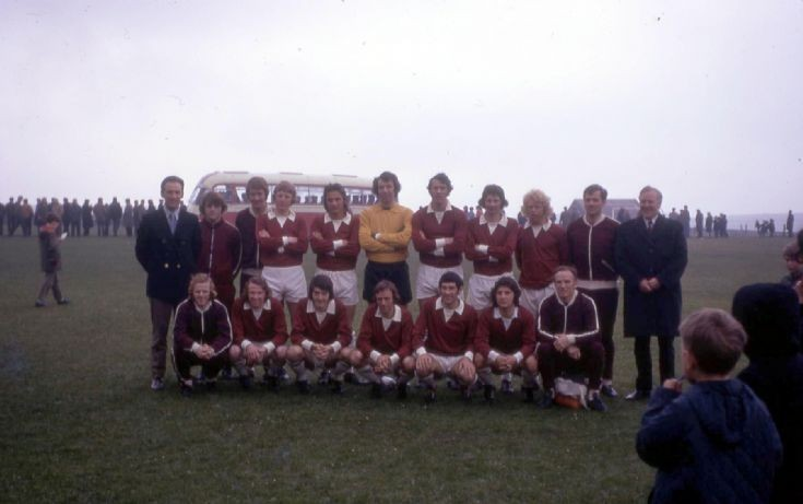 Hearts team that played Orkney