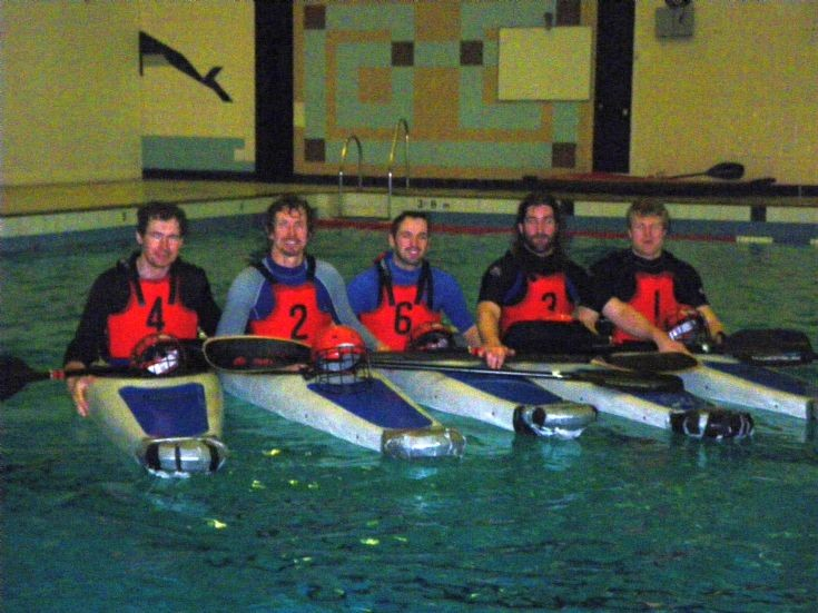 Orkney Canoe Polo team