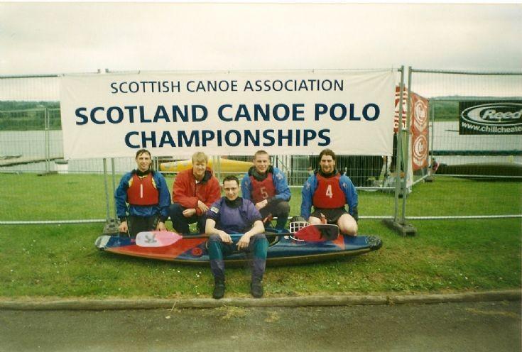 Orkney's first canoe polo team