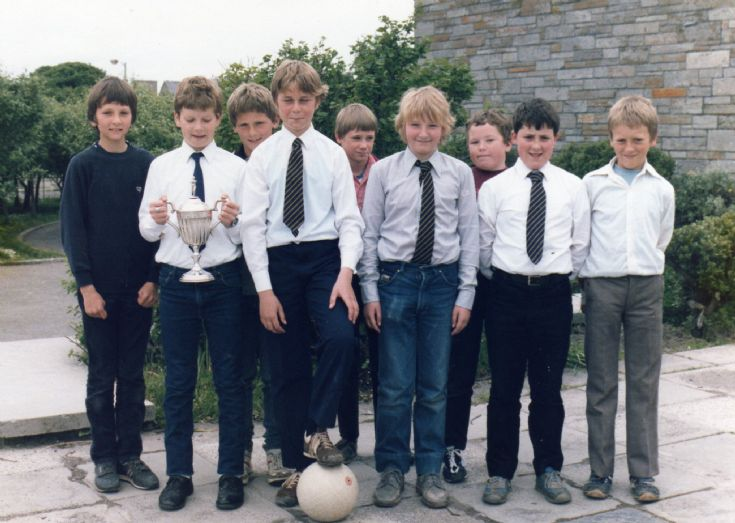 Papdale Inter House Football Champions