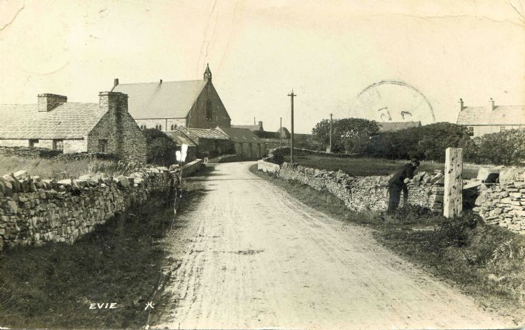 The village in Evie long ago