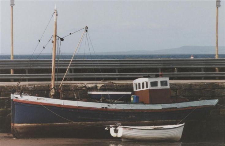 Inyoni at Scapa pier,1995