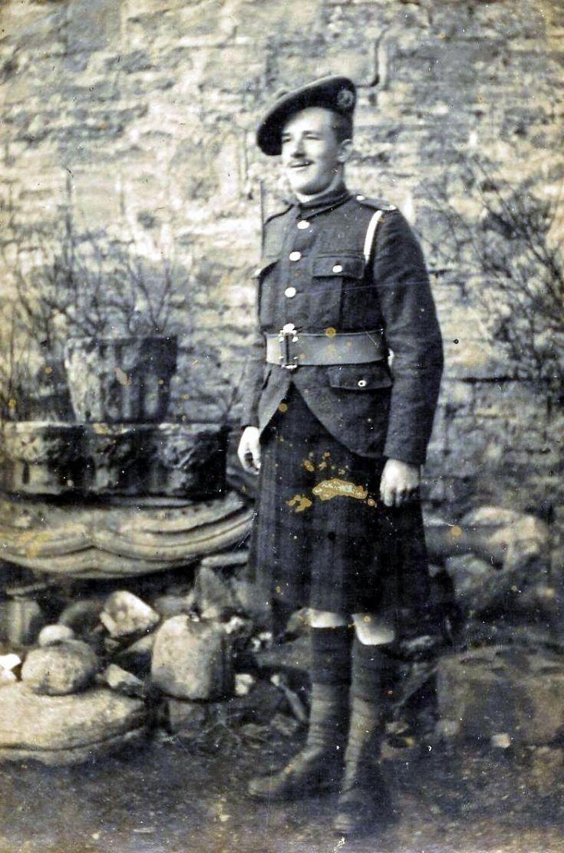 Robert Gillespie in WW1