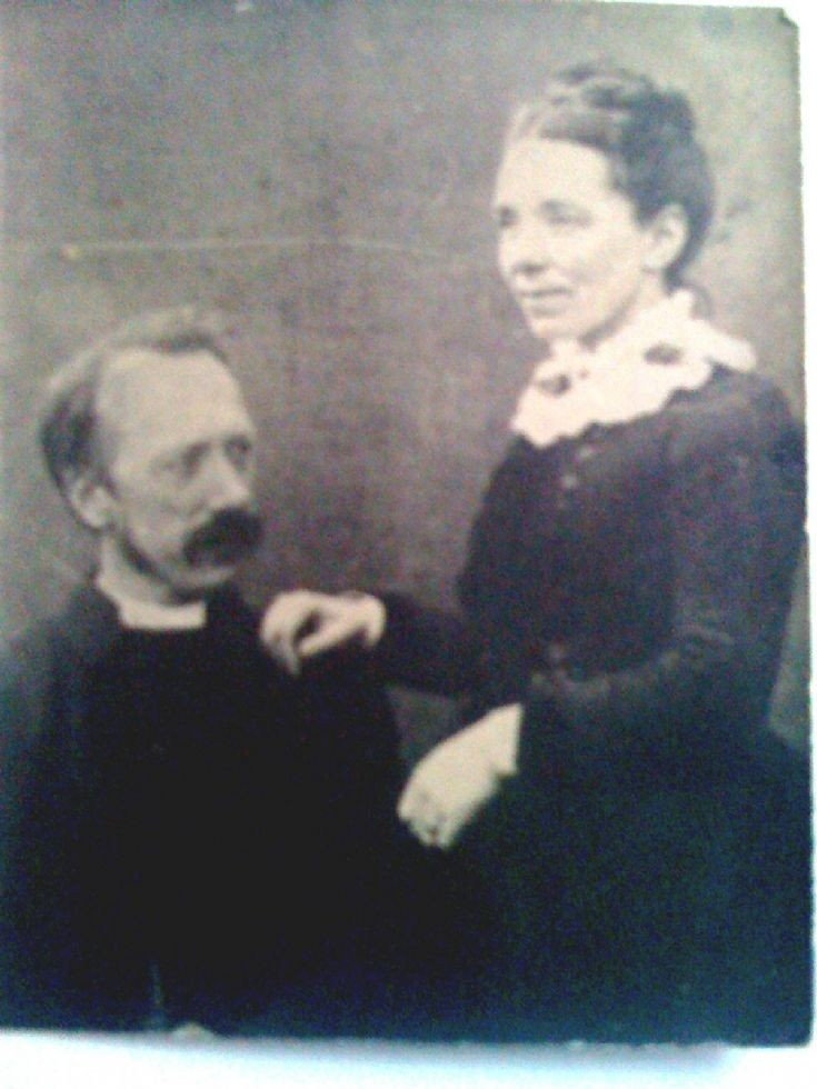 Margaret Spark and her husband the Rev.John Bicket