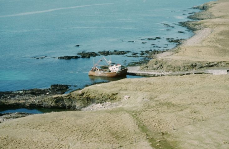 The Kildinguie at Auskerry pier