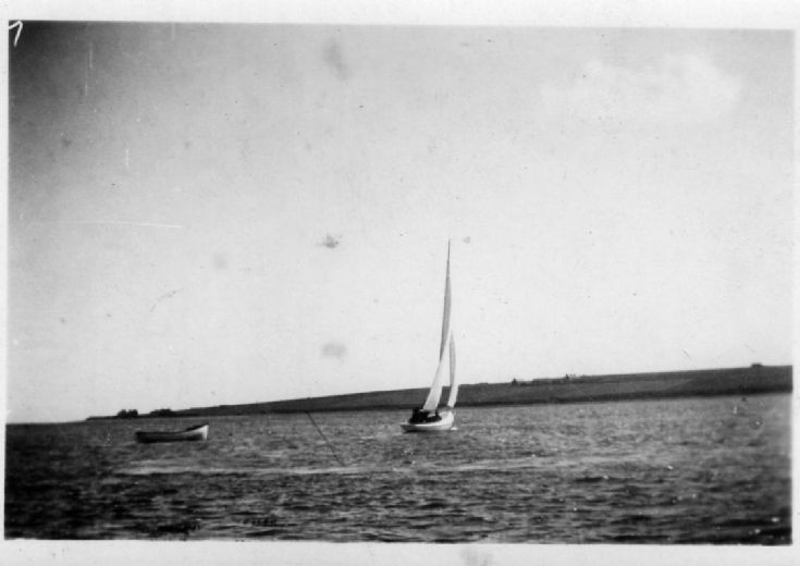 Sailing in Watersound 1935