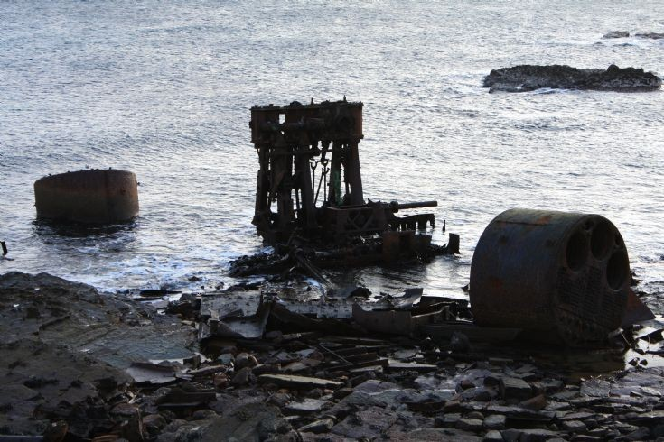 Whats left of the SS Irene