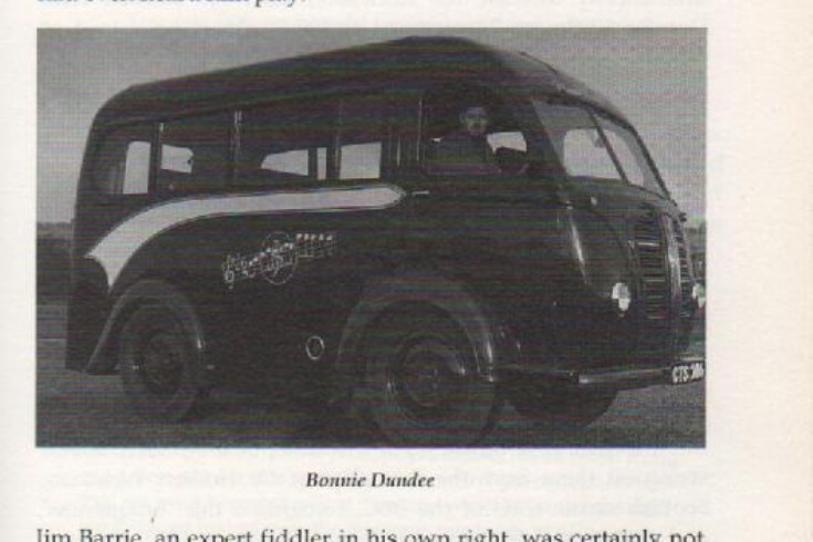 Jimmy Shand's Bus