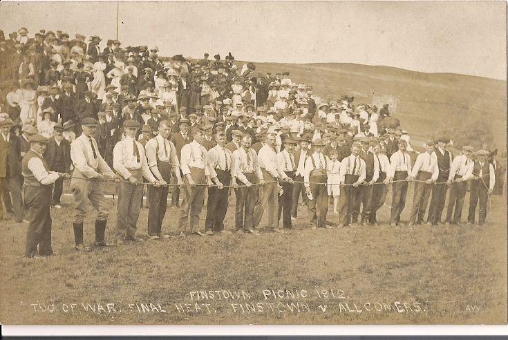 Finstown picnic, tug of war final