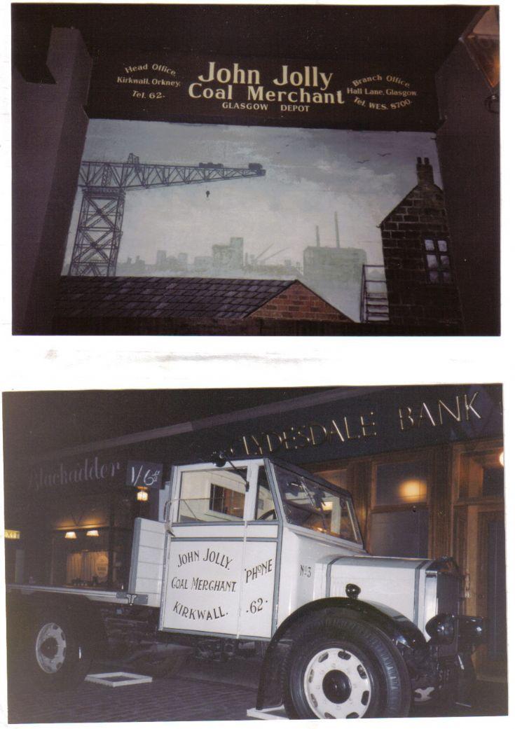 John Jolly's coal lorry