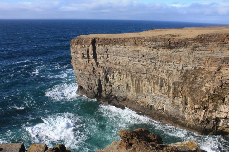 Cliffs south of Yesnaby